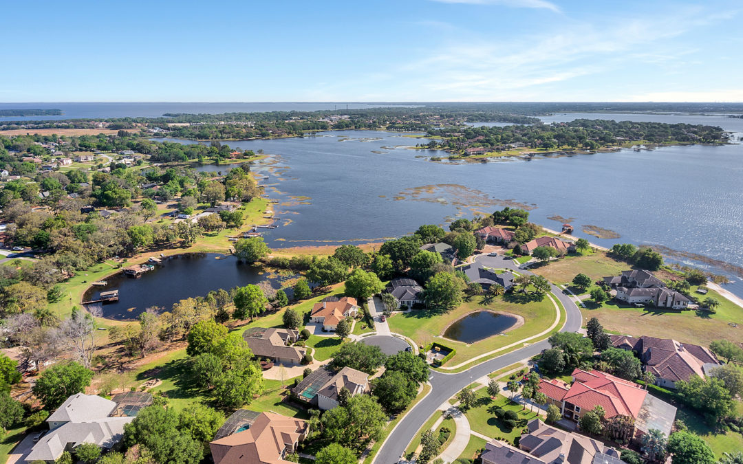 Water Access Communities in Clermont that will let you live the Lake Life
